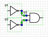 Inverted NAND